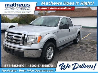2012 Ingot Silver Metallic Ford F-150 XLT Truck 3.7L V6 FFV Engine Automatic 2 Door RWD