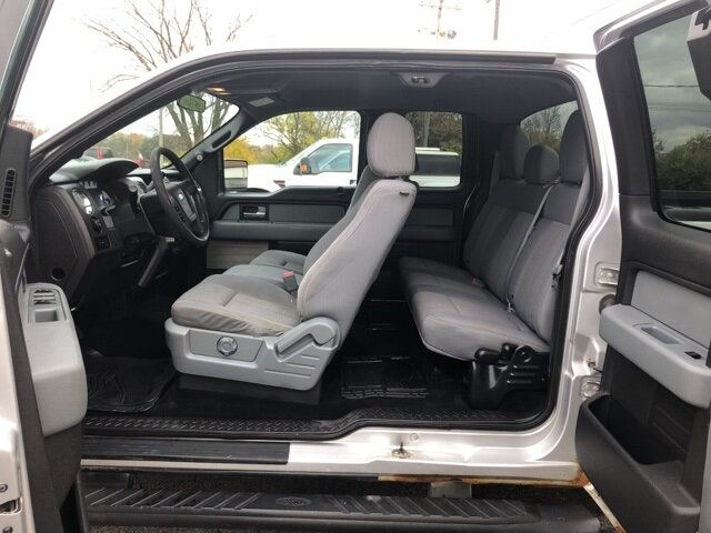 2012 Ingot Silver Metallic Ford F-150 XLT Automatic Truck RWD 2 Door 3.7L V6 FFV Engine