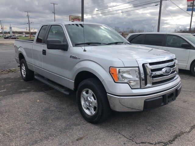 2012 Ingot Silver Metallic Ford F-150 XLT 3.7L V6 FFV Engine Truck 2 Door Automatic