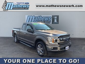 2018 Stone Gray Ford F-150 XLT 2WD SuperCab 6.5' Box 4 Door Truck Automatic RWD