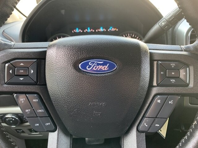 2018 Stone Gray Ford F-150 XLT 2WD SuperCab 6.5' Box RWD Truck 2.7L 6-Cylinder Engine 4 Door Automatic