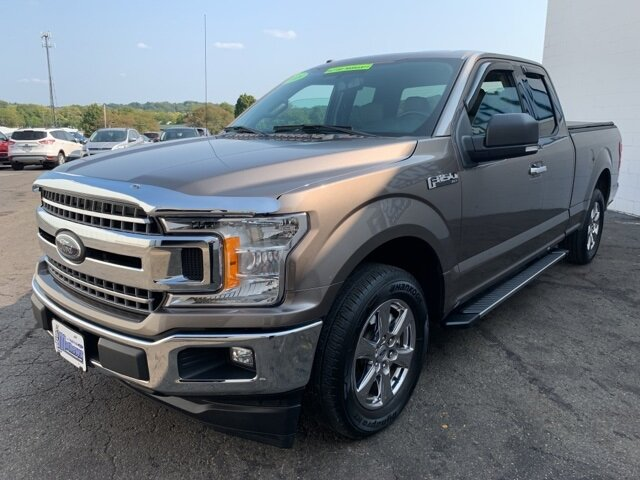 2018 Stone Gray Ford F-150 XLT 2WD SuperCab 6.5' Box 4 Door RWD Automatic