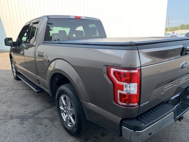 2018 Ford F-150 XLT 2WD SuperCab 6.5' Box Truck 2.7L 6-Cylinder Engine Automatic 4 Door