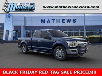 2020 Blue Jeans Metallic Ford F-150 XLT 4WD SuperCab 6.5' Box 4X4 3.3L 6-Cylinder Engine Truck