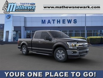 2020 Agate Black Metallic Ford F-150 XLT 4WD SuperCab 6.5' Box 3.3L 6-Cylinder Engine Automatic 4X4 Truck 4 Door