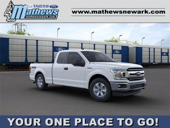 2020 Oxford White Ford F-150 XLT 3.3L 6-Cylinder Engine 4X4 Truck Automatic 4 Door