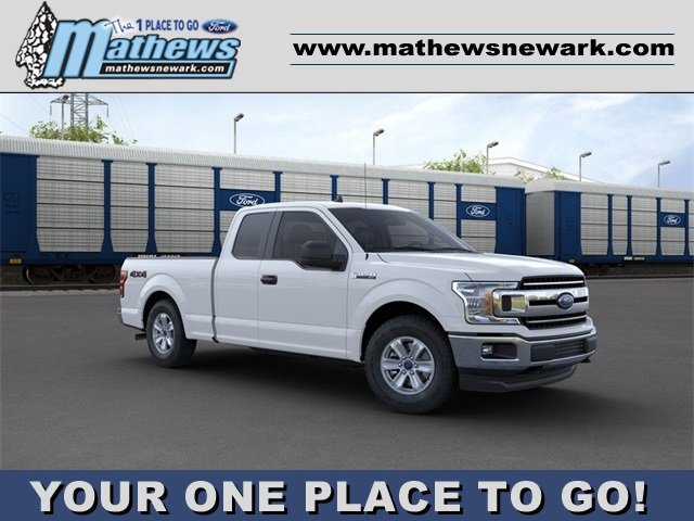 2020 Oxford White Ford F-150 XLT 4 Door 3.3 L 6-Cylinder Engine 4X4 Truck Automatic