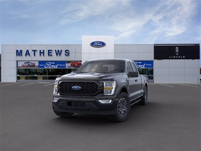 2021 Agate Black Metallic Ford F-150 XL 4X4 Truck 4 Door