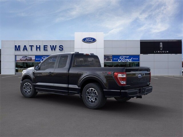 2021 Agate Black Metallic Ford F-150 XL Truck 4 Door 2.7L V6 EcoBoost Engine 4X4