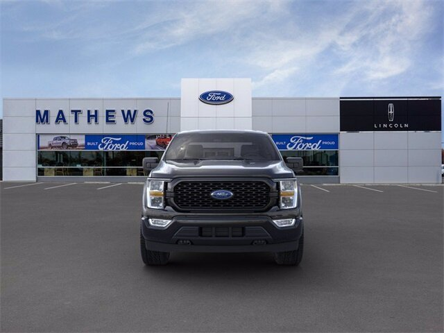 2021 Agate Black Metallic Ford F-150 XL 4X4 Truck Automatic 2.7L V6 EcoBoost Engine