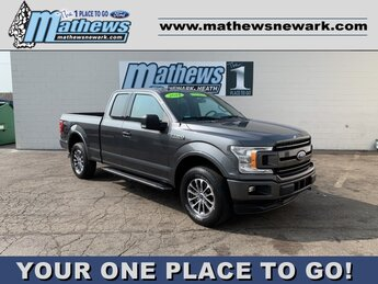 2018 Ford F-150 LARIAT 4X4 4 Door Automatic 2.7 L 6-Cylinder Engine Truck