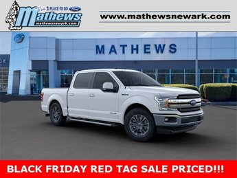 2019 Oxford White Ford F-150 LARIAT 2WD SuperCrew 5.5' Box Truck 4 Door 3.0L 6-Cylinder Engine