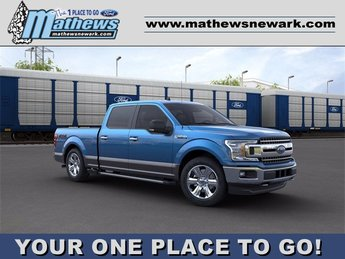 2020 Velocity Blue Metallic Ford F-150 4WD SuperCrew Box 4 Door Automatic Truck 4X4