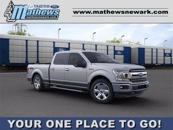 2020 Ford F-150 4WD SuperCrew Box Truck 4 Door Automatic 4X4 3.5 L 6-Cylinder Engine