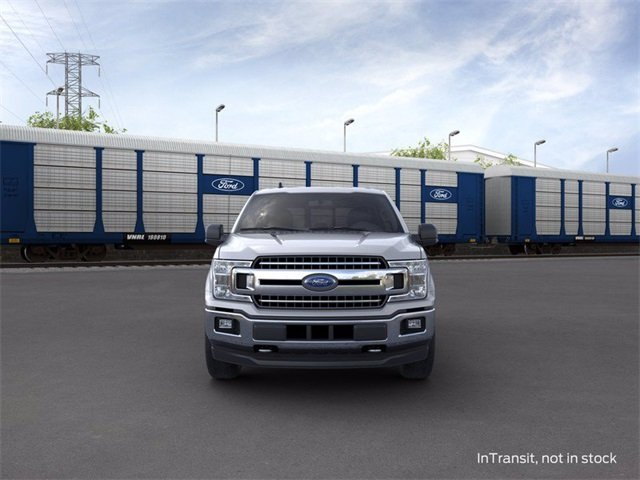 2020 Iconic Silver Metallic Ford F-150 4WD SuperCrew Box 3.5 L 6-Cylinder Engine Truck 4 Door Automatic