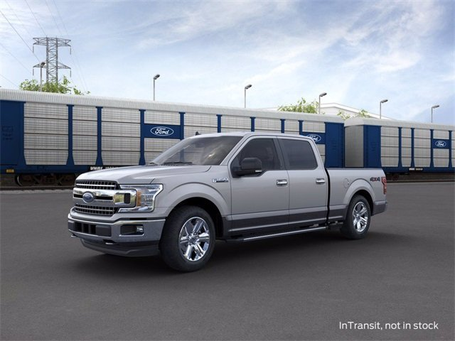 2020 Iconic Silver Metallic Ford F-150 4WD SuperCrew Box 4 Door Automatic Truck 3.5 L 6-Cylinder Engine 4X4