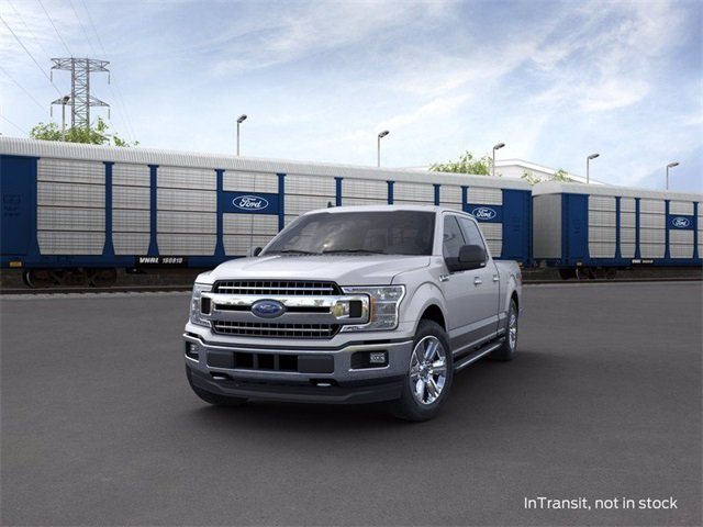 2020 Iconic Silver Metallic Ford F-150 4WD SuperCrew Box Automatic Truck 4 Door 3.5 L 6-Cylinder Engine 4X4