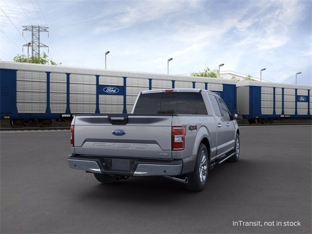 2020 Iconic Silver Metallic Ford F-150 4WD SuperCrew Box 4X4 Truck 4 Door Automatic 3.5 L 6-Cylinder Engine