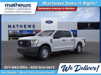 2021 Oxford White Ford F-150 XL Automatic 4X4 5.0L V8 Engine 4 Door