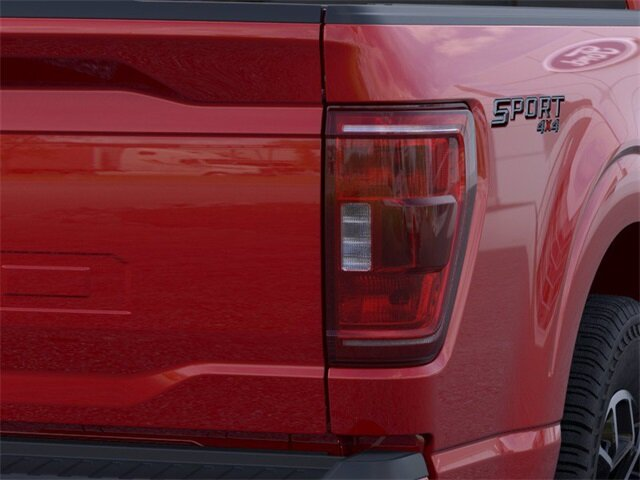 2021 Red Ford F-150 XLT Automatic 4 Door Truck