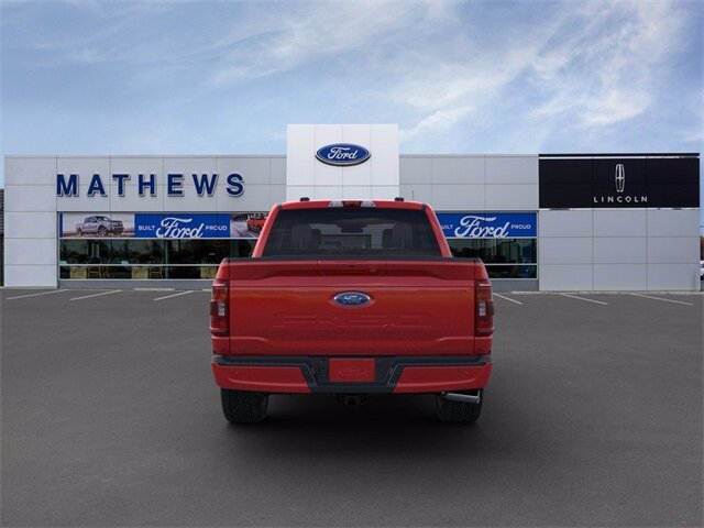 2021 Red Ford F-150 XLT 4X4 5.0L V8 Engine Truck 4 Door
