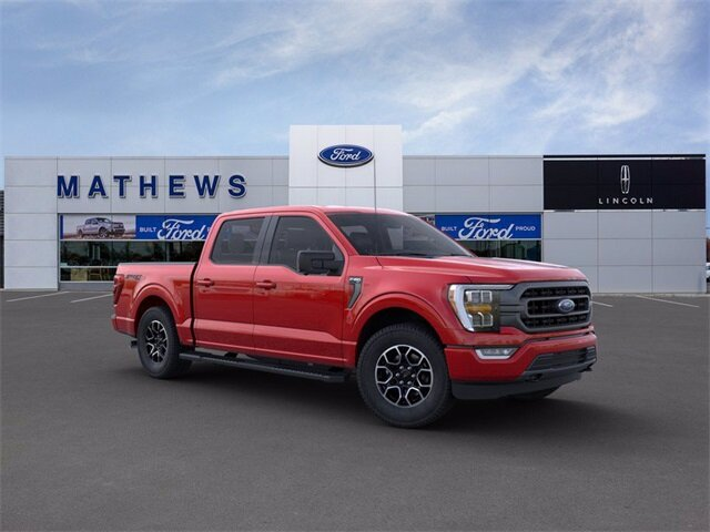 2021 Red Ford F-150 XLT 4 Door Truck Automatic 5.0L V8 Engine
