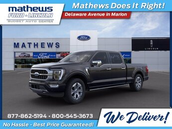 2021 Ford F-150 Platinum Automatic EcoBoost 3.5L V6 GTDi DOHC 24V Twin Turbocharged Engine 4X4