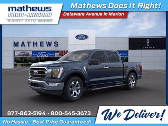 2021 Ford F-150 XLT 4X4 Truck EcoBoost 3.5L V6 GTDi DOHC 24V Twin Turbocharged Engine 4 Door