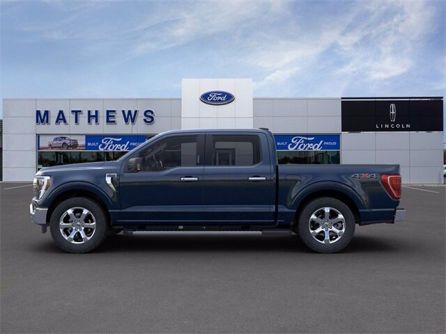 2021 Ford F-150 XLT 4X4 Truck Automatic EcoBoost 3.5L V6 GTDi DOHC 24V Twin Turbocharged Engine 4 Door