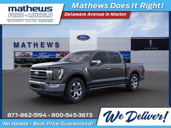 2021 Smoked Quartz Metallic Tinted Clearcoat Ford F-150 Lariat Automatic 4X4 Truck 4 Door EcoBoost 3.5L V6 GTDi DOHC 24V Twin Turbocharged Engine