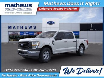2021 Ford F-150 XL 4X4 Truck Automatic 4 Door