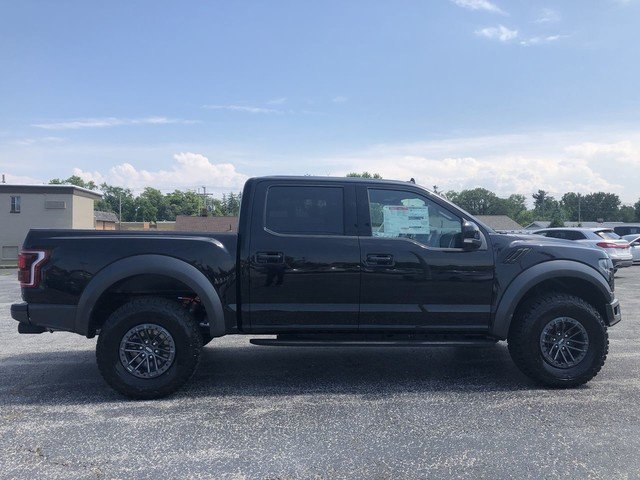 2019 Agate Black Metallic Ford F-150 Raptor 4 Door 3.5L V6 Ecoboost High Output Engine 4X4 Truck
