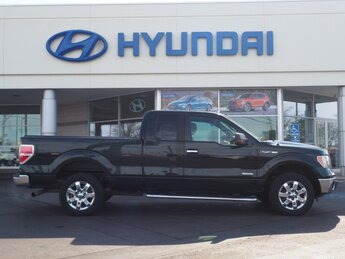 2014 Ford F-150 XLT Truck EcoBoost 3.5L V6 GTDi DOHC 24V Twin Turbocharged Engine 4 Door RWD