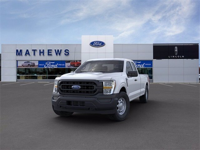 2021 Oxford White Ford F-150 XL 4 Door 4X4 Truck