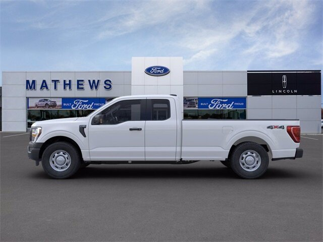 2021 Oxford White Ford F-150 XL 4X4 Truck Automatic 4 Door EcoBoost 3.5L V6 GTDi DOHC 24V Twin Turbocharged Engine