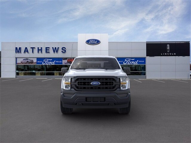 2021 Ford F-150 XL 4 Door EcoBoost 3.5L V6 GTDi DOHC 24V Twin Turbocharged Engine 4X4 Truck Automatic