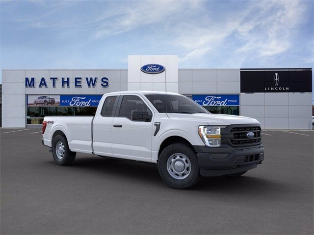 2021 Ford F-150 XL EcoBoost 3.5L V6 GTDi DOHC 24V Twin Turbocharged Engine 4 Door Truck Automatic 4X4