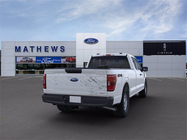 2021 Oxford White Ford F-150 XL 4 Door Automatic EcoBoost 3.5L V6 GTDi DOHC 24V Twin Turbocharged Engine Truck