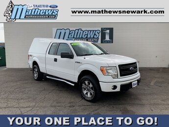 "2014 White Ford F-150 4WD SuperCab 145"" STX Truck 4 Door 4X4 5.0L 8-Cylinder Engine Automatic"