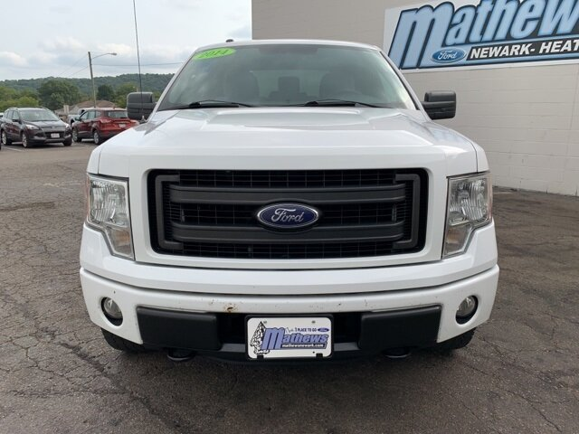 "2014 White Ford F-150 4WD SuperCab 145"" STX 4 Door Automatic Truck 4X4 5.0L 8-Cylinder Engine"