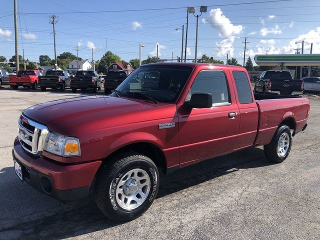 2011 Redfire Metallic Ford Ranger XLT Automatic Truck RWD