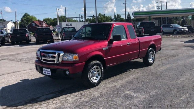 2011 Redfire Metallic Ford Ranger XLT RWD 4.0L SOHC V6 Engine Automatic 2 Door Truck