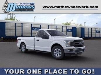2020 Oxford White Ford F-150 4WD Reg Cab Box 4X4 2.7 L 6-Cylinder Engine Truck