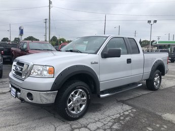 2007 Silver Metallic Ford F-150 XLT 5.4L 24-Valve EFI FFV V8 Engine 4X4 Truck 2 Door