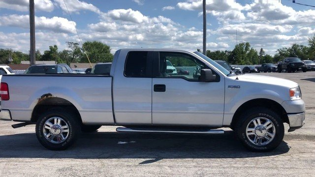 2007 Silver Metallic Ford F-150 XLT 2 Door 5.4L 24-Valve EFI FFV V8 Engine Automatic
