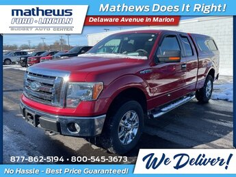 2009 Red Ford F-150 XLT 4X4 Truck 4.6L V8 EFI 24V Engine Automatic 2 Door