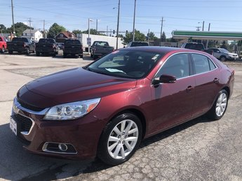 2015 Butte Red Metallic Chevrolet Malibu LT Ecotec 2.5L DOHC 4-Cyl DI Engine Sedan 4 Door FWD