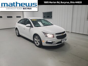 2015 Chevrolet Cruze LT Ecotec Turbo 1.4L VVT DOHC 4-Cyl Sequential MFI Engine 4 Door Automatic FWD Car