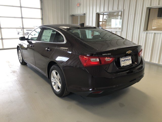 2021 Black Cherry Metallic Chevrolet Malibu LS FWD 1.5L Turbo DOHC 4-Cyl DI Engine Car