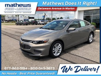 2018 Chevrolet Malibu LT 4 Door FWD 1.5L DOHC Engine Automatic Sedan